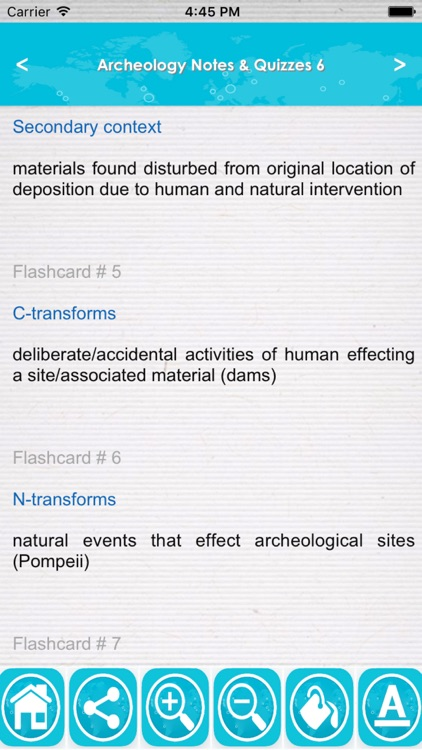 Archeology Test Bank App- Terms,Concepts & Quizzes screenshot-1