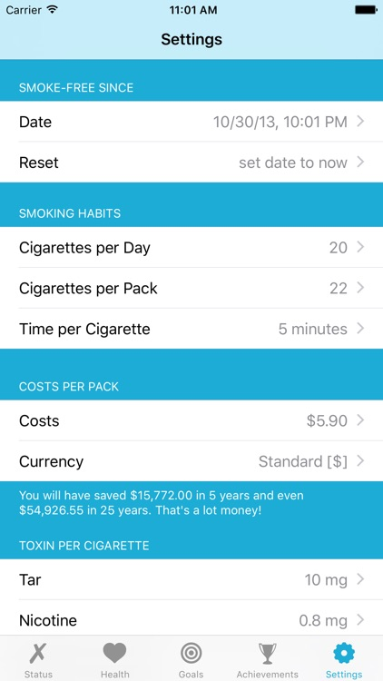 Quit It - stop smoking today screenshot-4