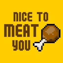 Food Puns Sticker - Pixel Art Edition (75+ Items)