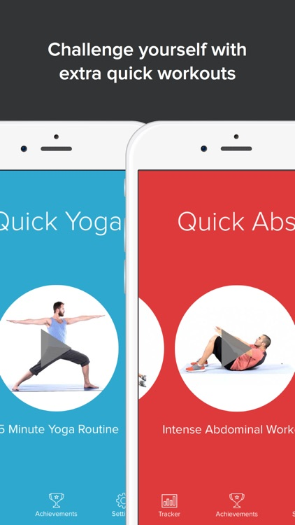 Quick Fit - 7 Minute Workout, Abs, and Yoga screenshot-4