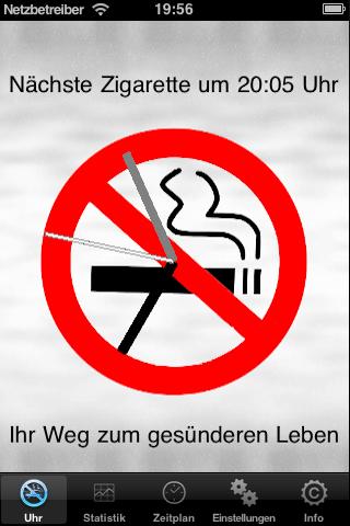 Stop-Smoking-TimerScreenshot von 1