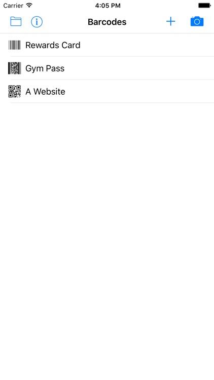 BarcodeTray screenshot-3