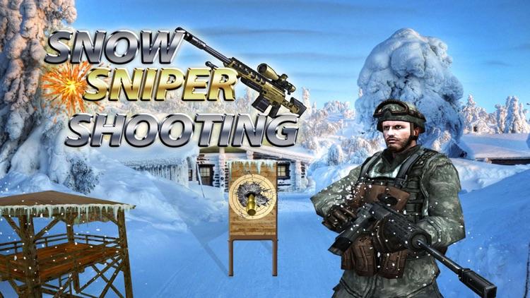 Elite Snow Sniper Shooter Shooting Master 3d free screenshot-0