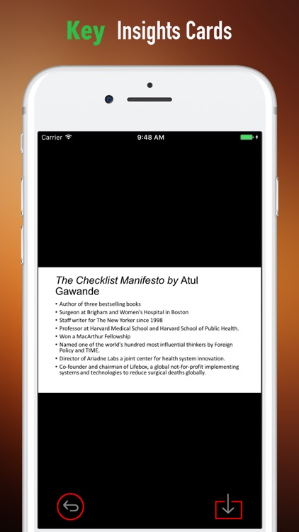 Quick Wisdom from The Checklist Manifesto screenshot-3