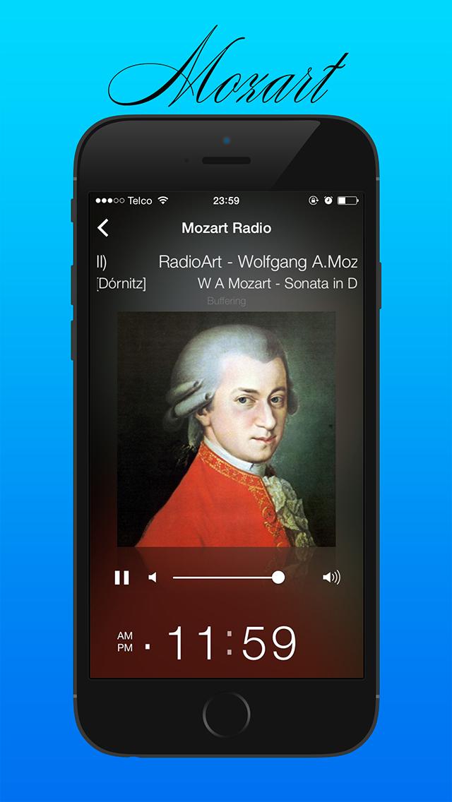 ヴォルフガングのA.モーツァルトインターネットラジオのおすすめ画像4