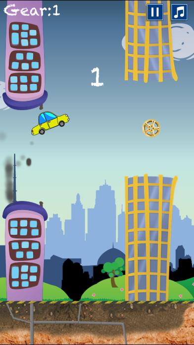 Flappy Car screenshot one