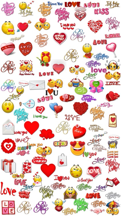 Amazing Love Stickers for iMessage