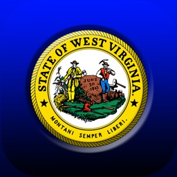 West Virginia Home Stickers
