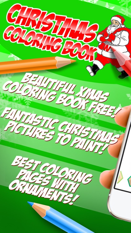 Christmas Coloring Book  - Xmas Pictures to Color