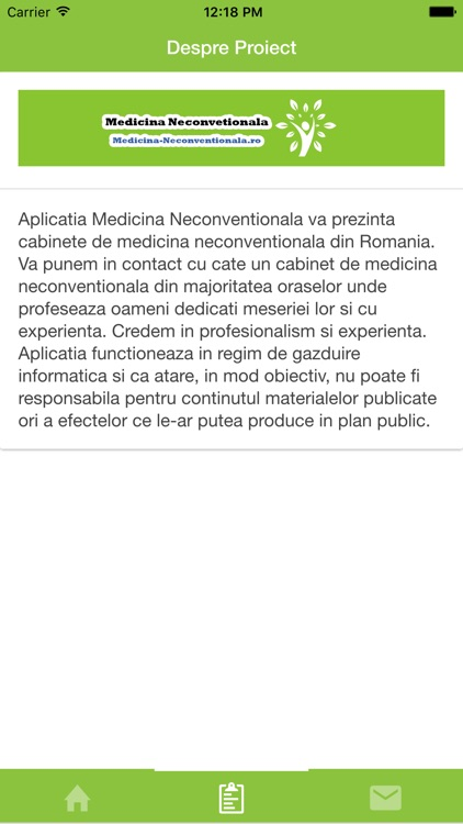 Medicina Neconventionala