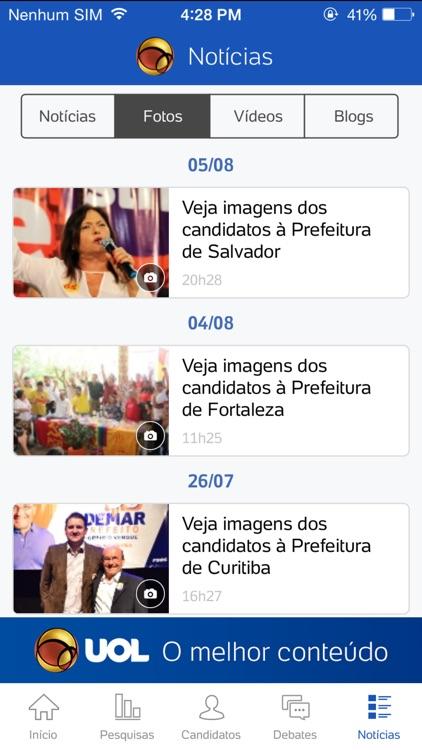 UOL Eleições 2016 - Candidatos e apuração de votos screenshot-4