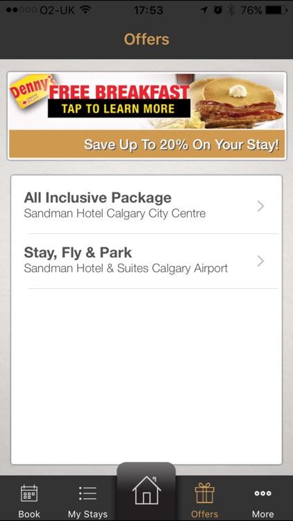 Sandman Hotel Group screenshot-4