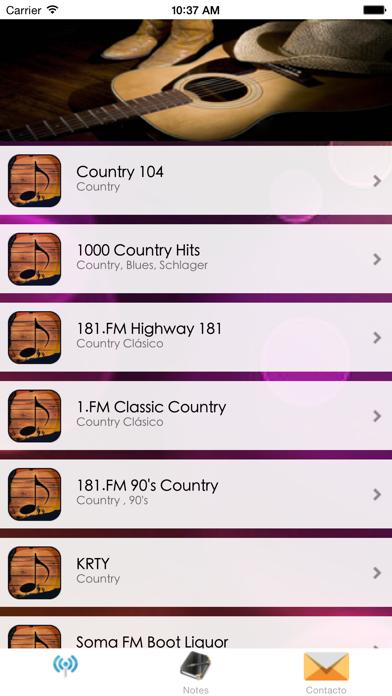 A+ Country Radios - Country Music Radio screenshot one