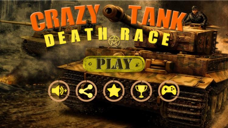 Crazy Tank Death Race 3D : Road Riot Combat Racing screenshot-0