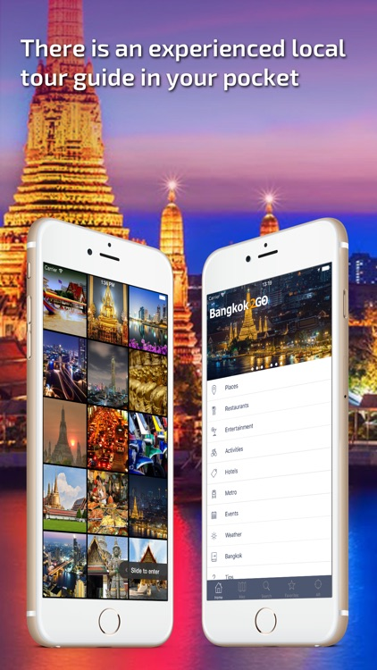 Bangkok - Offline Travel Guide screenshot-0