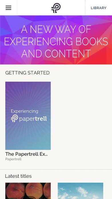 Papertrell Screenshot