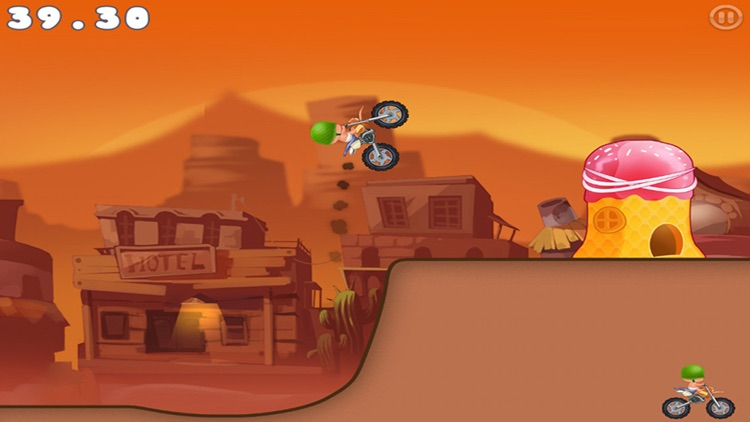 Super Hero Car Climb Racing screenshot-3