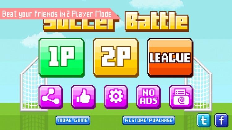 Funny Soccer - Fun 2 Player Physics Games Free screenshot-4