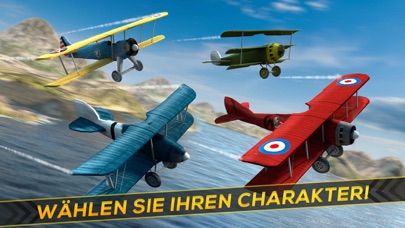Kostenlose Flugzeug Krieg Rennen Spiel für KindernScreenshot von 3