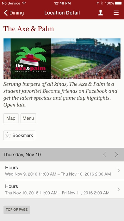 Stanford Mobile screenshot-2