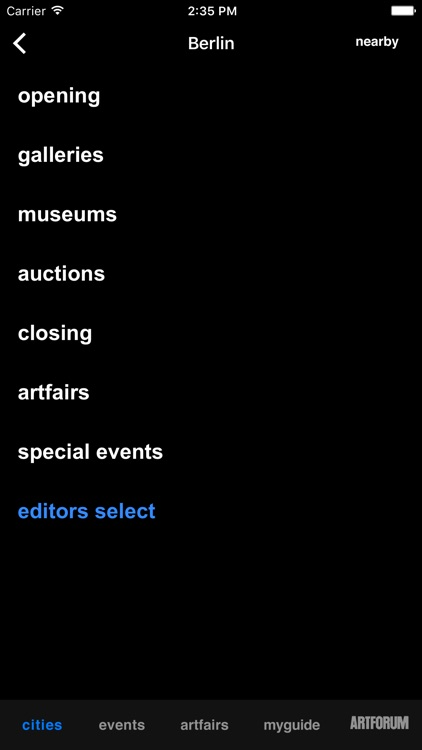 artguide screenshot-3