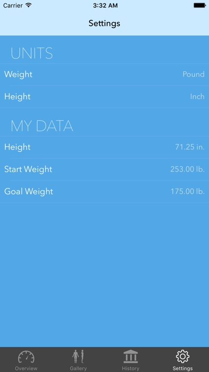 Weight Tracker - Before & After Photos and BMI screenshot-4