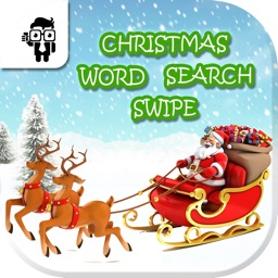 Christmas Word Search Swipe