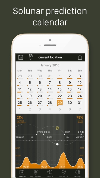 Hunting Calendar screenshot-0