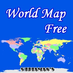World map free on the app store world map free 4 gumiabroncs Gallery