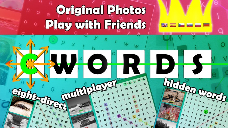cWords - search hidden words puzzle with pictures