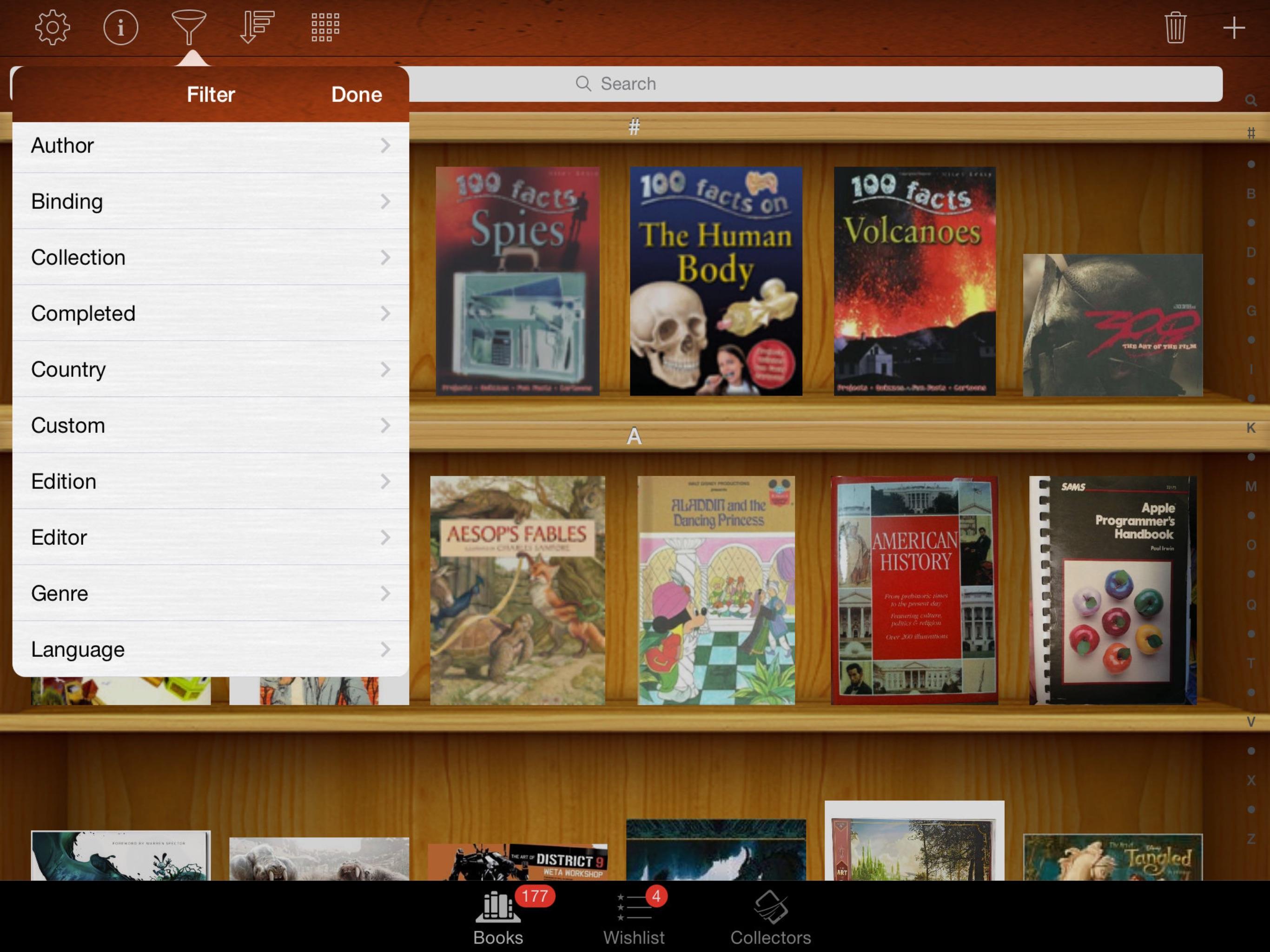 Collectors: Movies Games Books Comics Music - iPad Screenshot