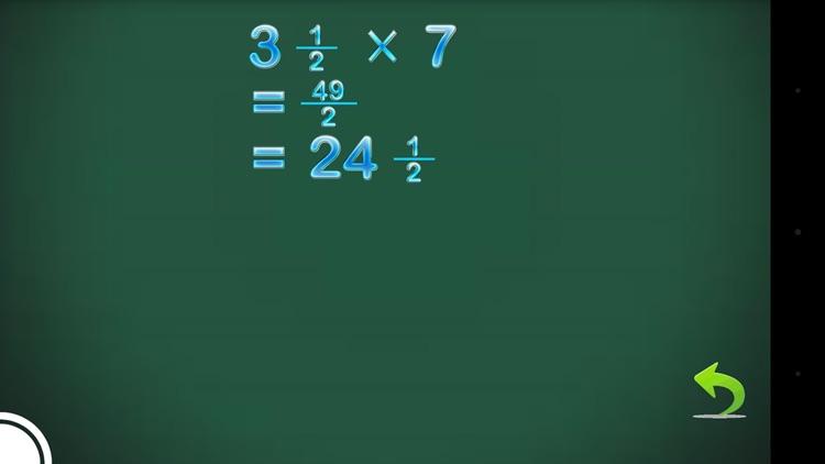 Fraction Calculator and progress screenshot-4