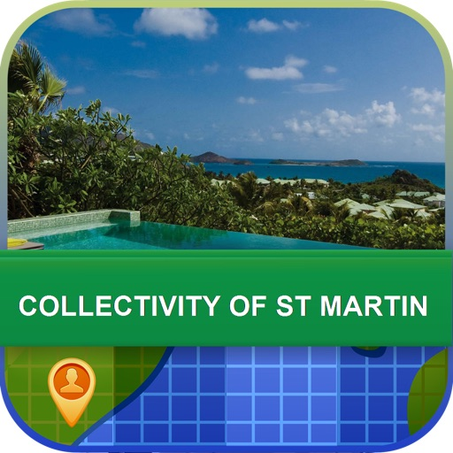 Collectivity of St Martin Map - World Offline Maps