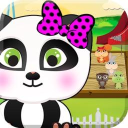 My Pet Rush: Cute Cartoon Baby Animals Sprint Race