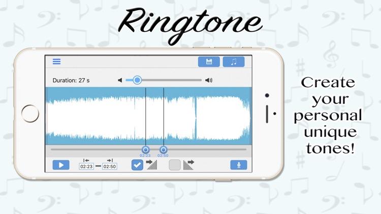 The Personal Ringtone Creator