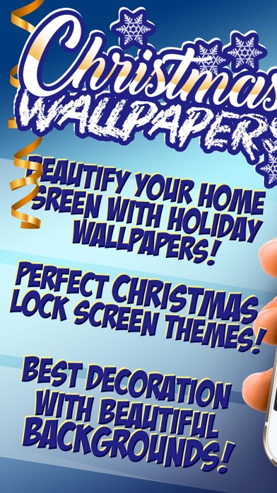 Christmas Wallpaper Collection Winter Background App Mobile Apps