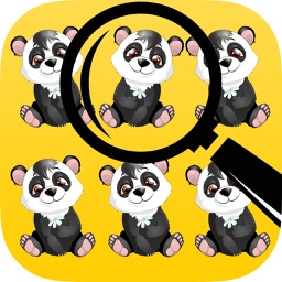 Animal Photo Hunt: spot the differences in this photo hunt puzzle of hidden object games