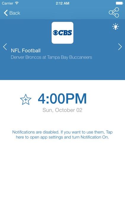 US Live Sport TV Listings screenshot-3