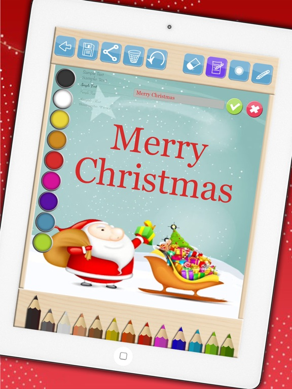 screenshot 3 for create christmas cards create and design christmas cards to wish merry
