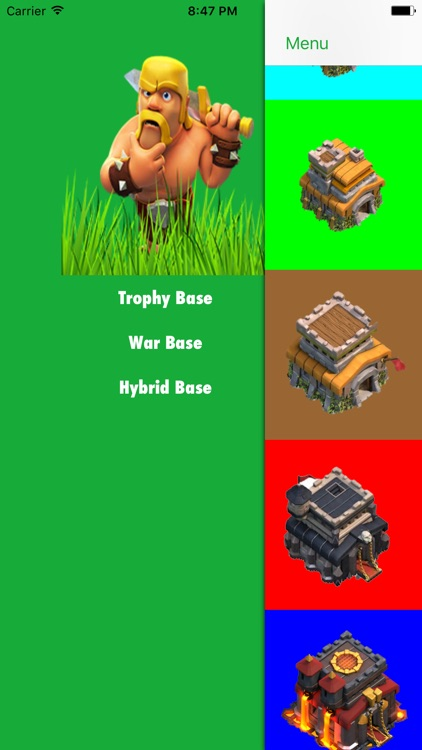 COC Base Layout Gallery app image