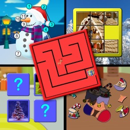 Kids Christmas Activites and Puzzles