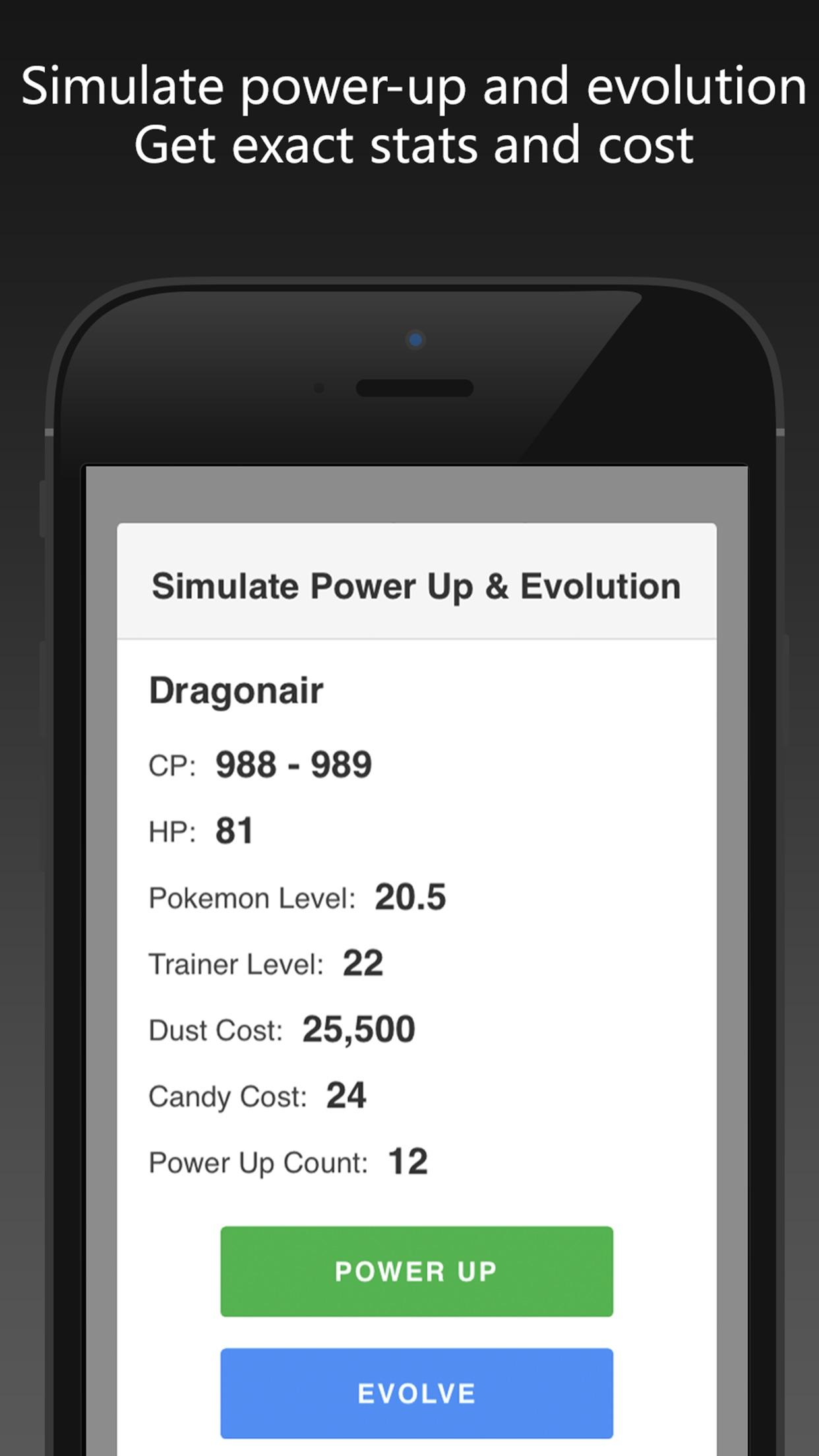 poke genie for pokemon go auto iv calculator by can jin. Black Bedroom Furniture Sets. Home Design Ideas