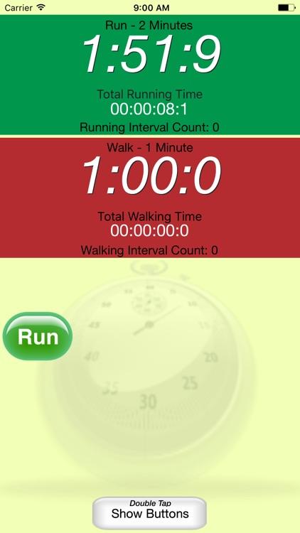 Running Interval Timer screenshot-3