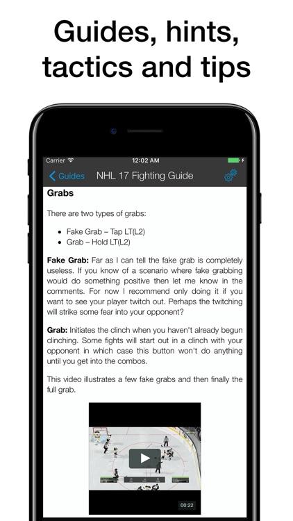 Pocket Wiki for NHL 17 screenshot-3