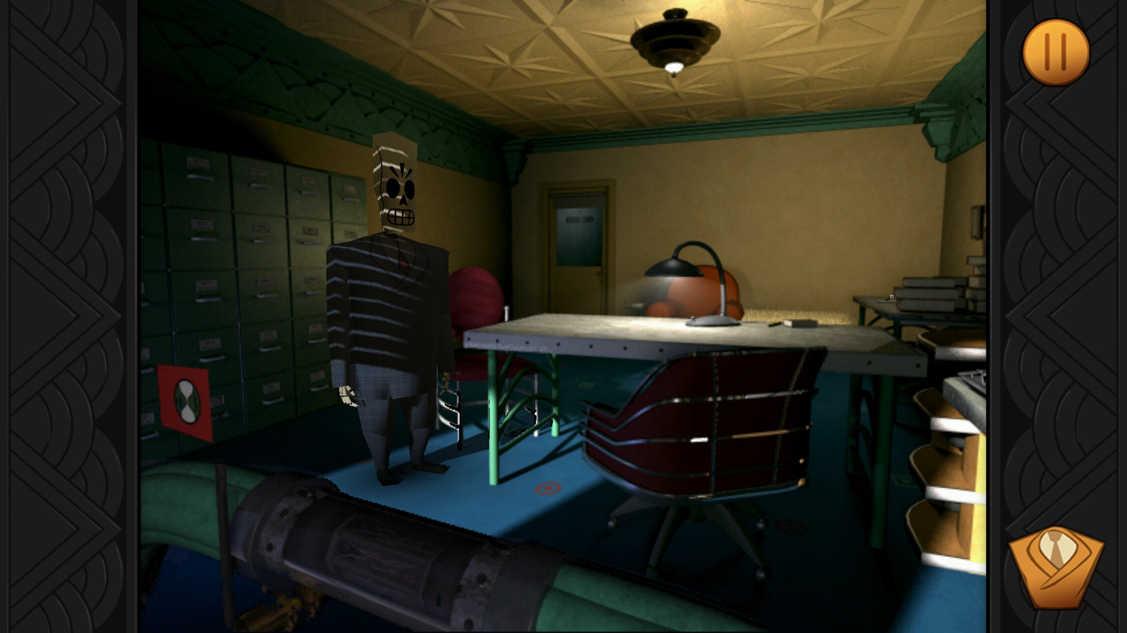 Screenshot do app Grim Fandango Remastered