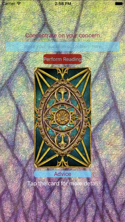 Tarot Card Reader Lite screenshot-0