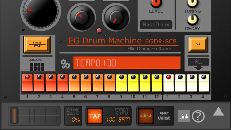 EGDR808 Drum Machine HD screenshot-2