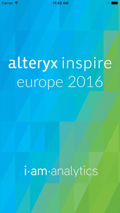 Alteryx Inspire Europe 2016 screenshot one