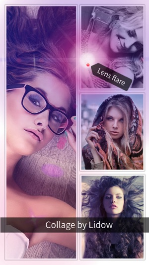 Lidow - Photo Editor & Collage Screenshot
