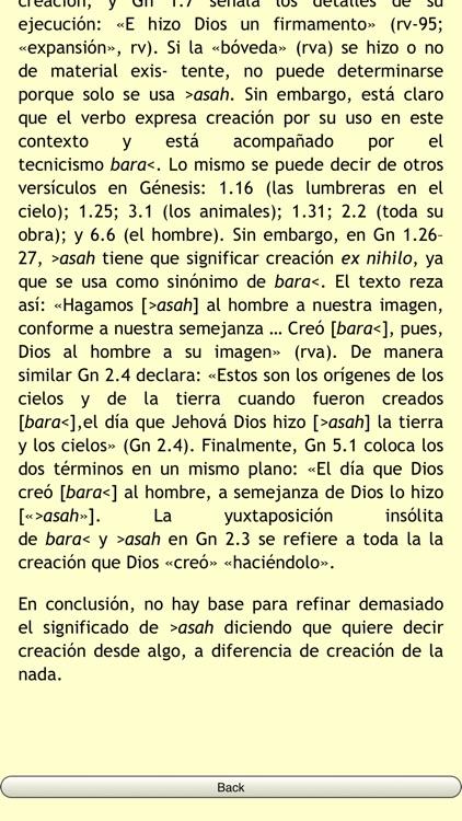Diccionario Hebreo Biblico screenshot-4
